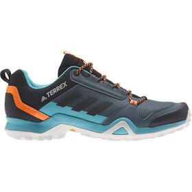 adidas TERREX AX3 Chaussures de randonnée Homme, legacy blue/core black/signal orange